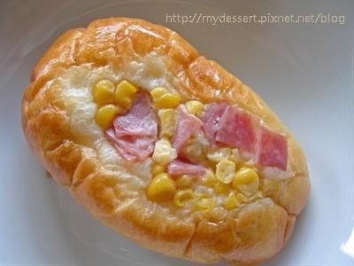 玉米火腿麵包02