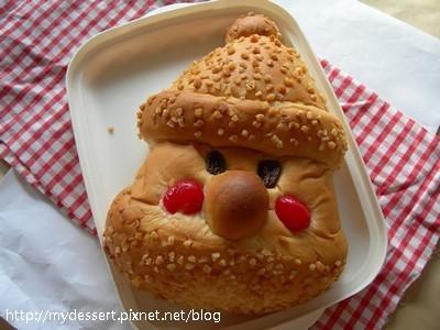 耶誕老人麵包01