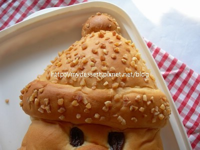 耶誕老人麵包02