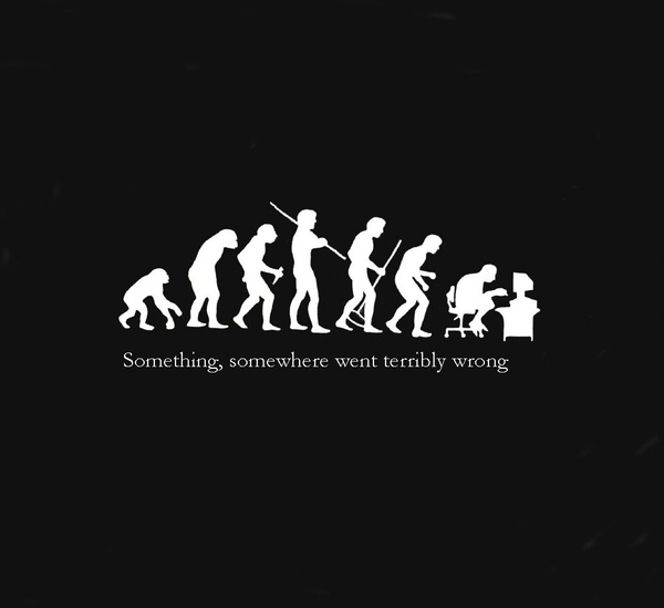 Something,somewhere went terribly wrong