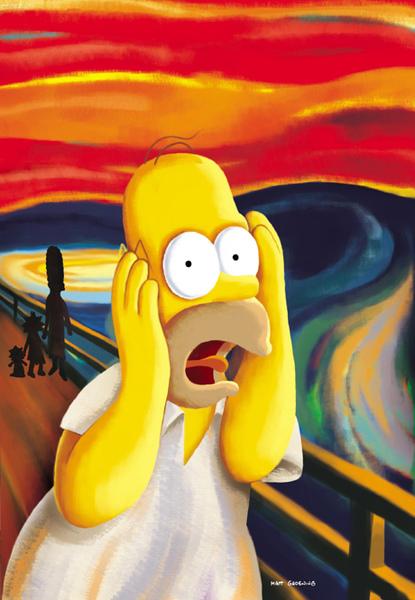 Homer scream