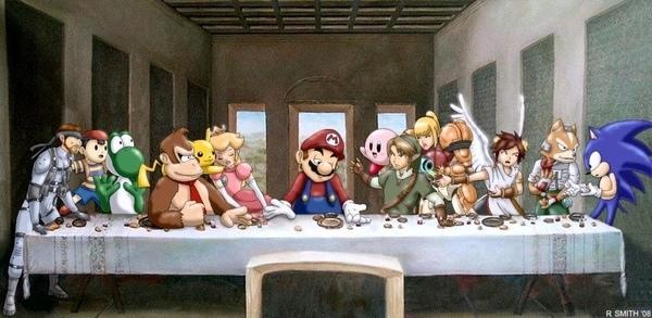 Last-Supper-nintendo