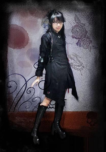 雙排釦大衣試套1.JPG