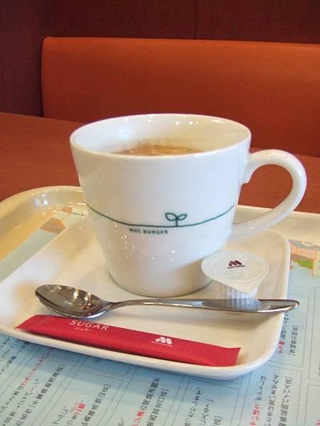我的熱咖啡