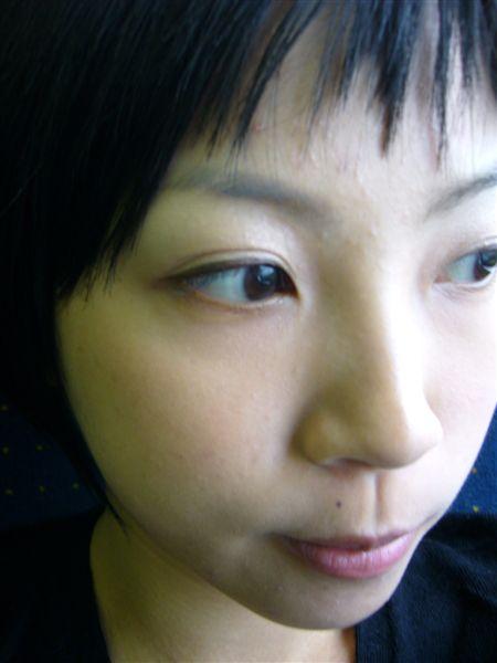 火車上,回新竹ING