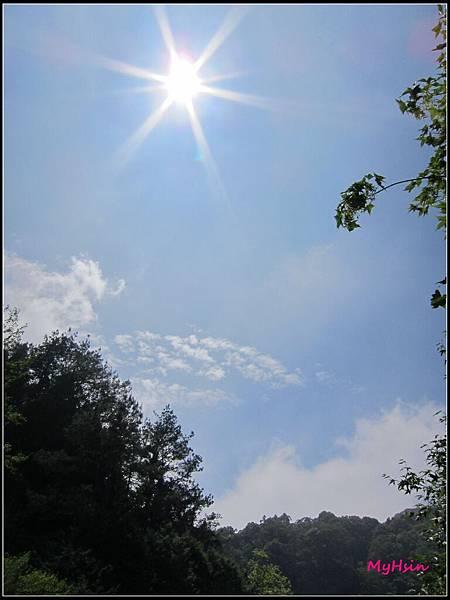 天空真的很藍很藍~