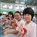 好久不見的三位孩子~天蕙的短髮很適合你!!!