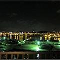 換到了那霸市的飯店,夜景就沒這麼厲害了...