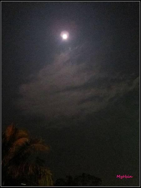 中秋前夕,月亮好圓