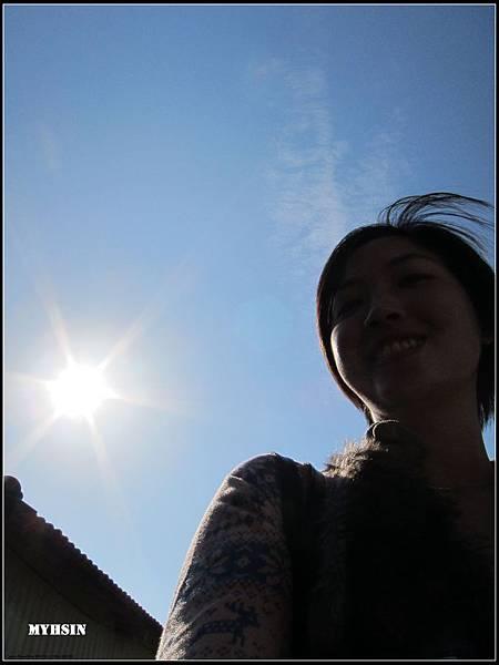 太陽非常耀眼~