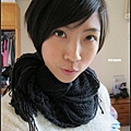 因為最後一天上國三英文班~所以要用心打扮一下!!