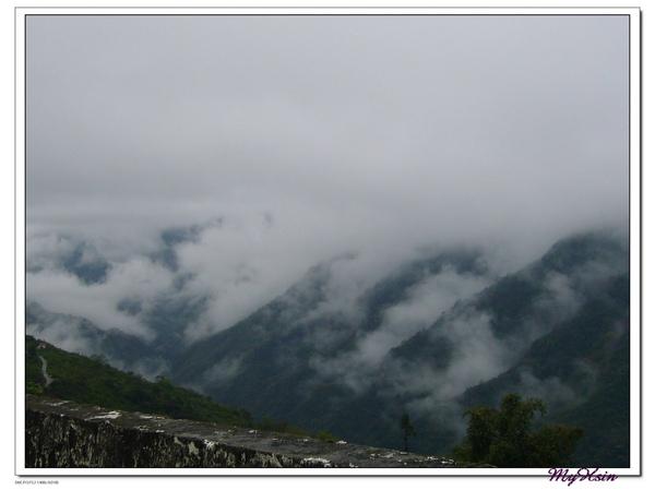 山上的風景真的很美~
