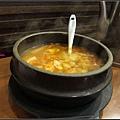泡菜鍋~弱掉了啦!!! 難吃難吃...