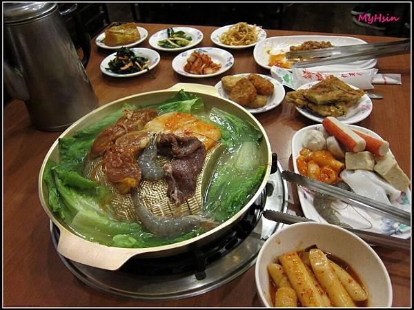 到中壢選了間韓式料理吃到飽
