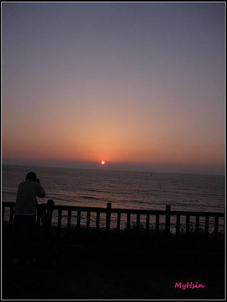 微調後的夕陽,真的很不賴耶!!