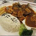 總匯海鮮蘑菇飯