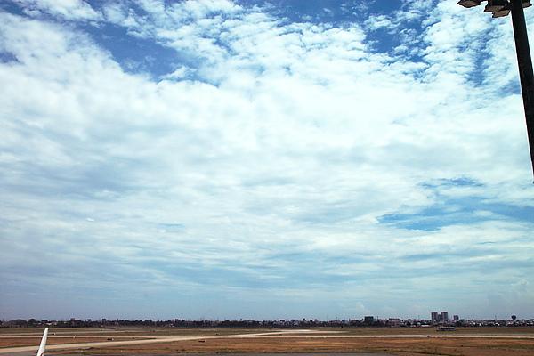 胡志明市的天空