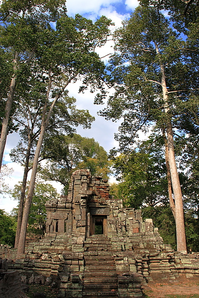 Preah Pithu Group普拉提圖寺群(聖皮度寺)中的某寺
