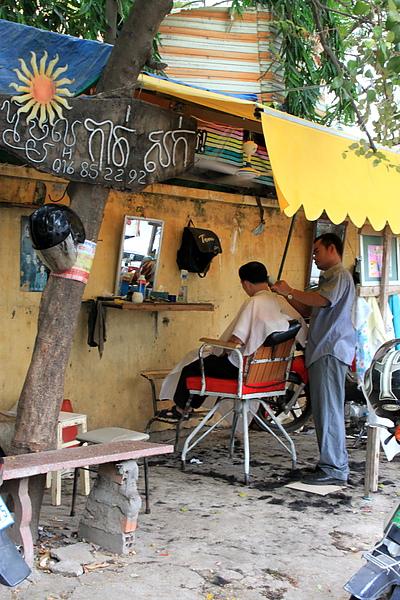路邊理髮師