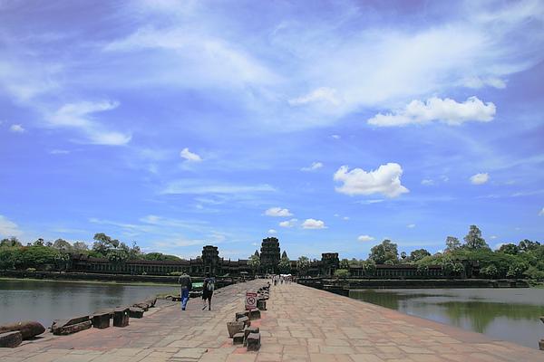 Angkor Wat參道