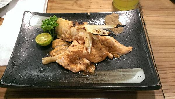 鹽烤鮭魚肚