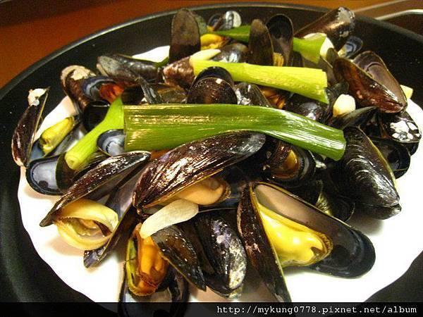 法國清蒸淡菜