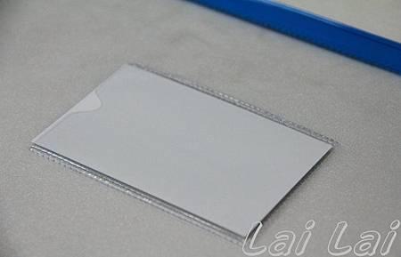 透明拉鍊資料袋 名片