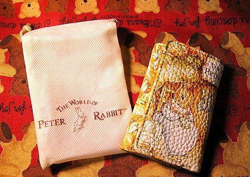 彼得兔 小兔喝湯鑰匙包(附防塵袋) (1)