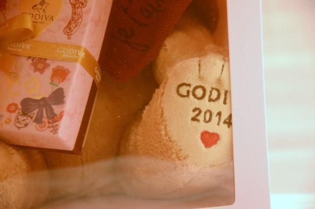 GODIVA 2014 情人節小熊 (10)