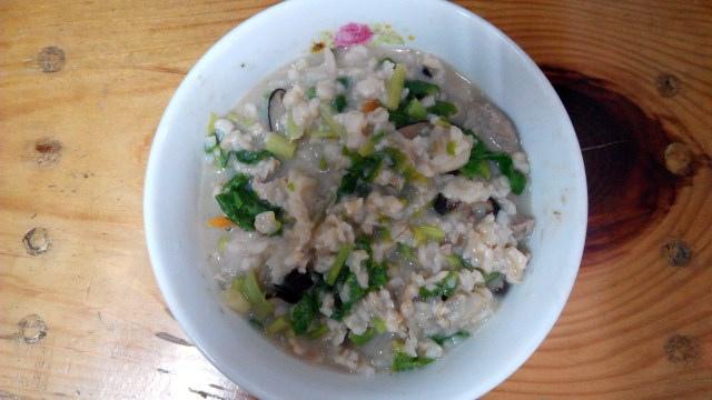 芋頭海瓜子粥 (1)