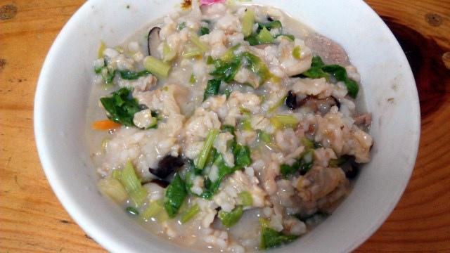 芋頭海瓜子粥 (2)