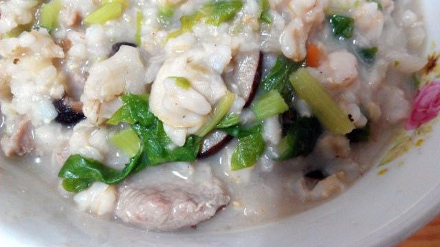 芋頭海瓜子粥 (4)