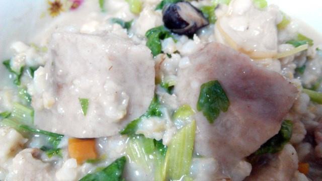 芋頭海瓜子粥 (6)