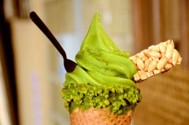 林百貨 三星園抹茶霜淇淋 (11)