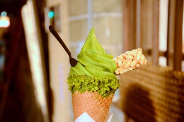 林百貨 三星園抹茶霜淇淋 (10)
