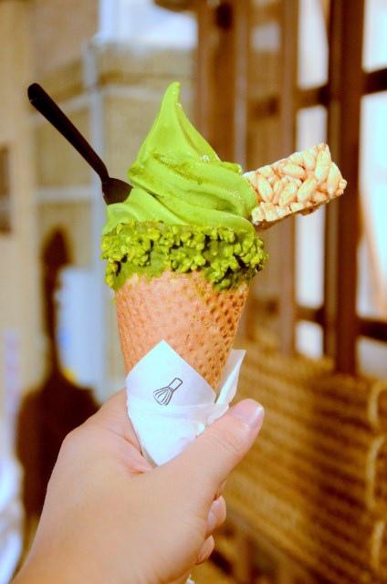 林百貨 三星園抹茶霜淇淋 (8)