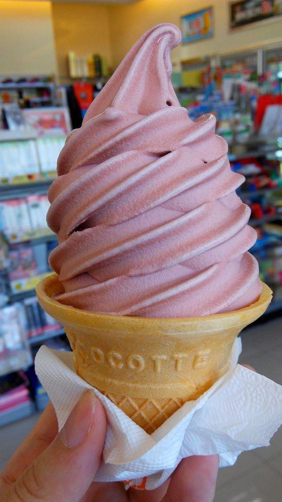 全家 萬丹紅豆 霜淇淋 (8)