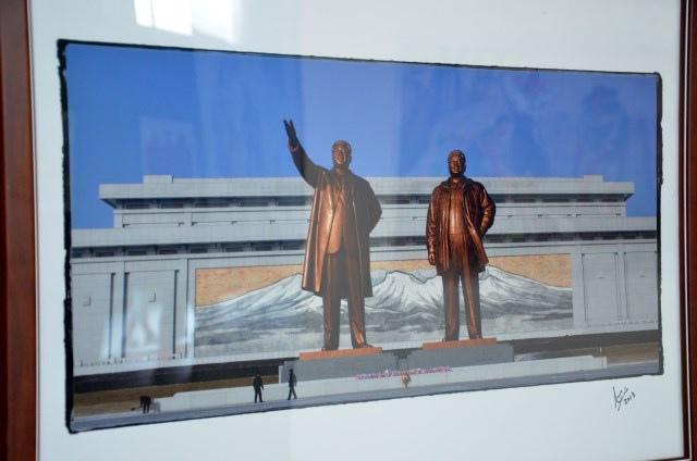 北韓手繪海報藝術展 (10)