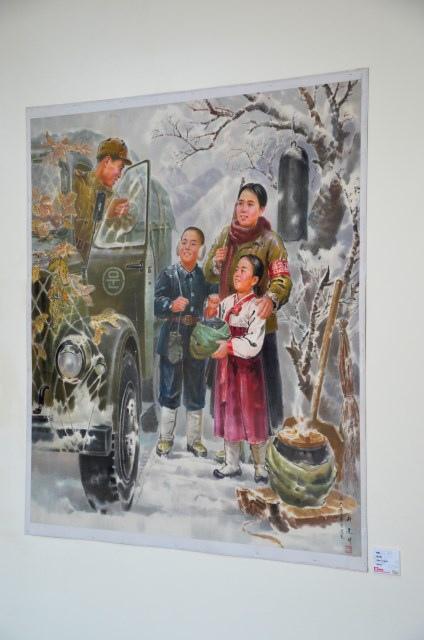 北韓手繪海報藝術展 (8)