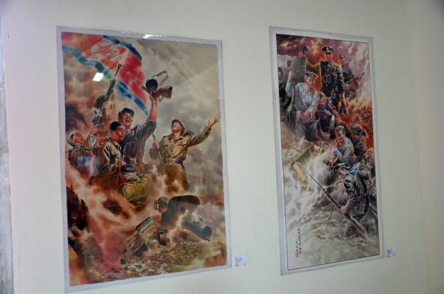北韓手繪海報藝術展 (6)