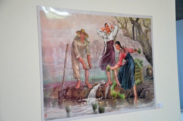 北韓手繪海報藝術展 (9)