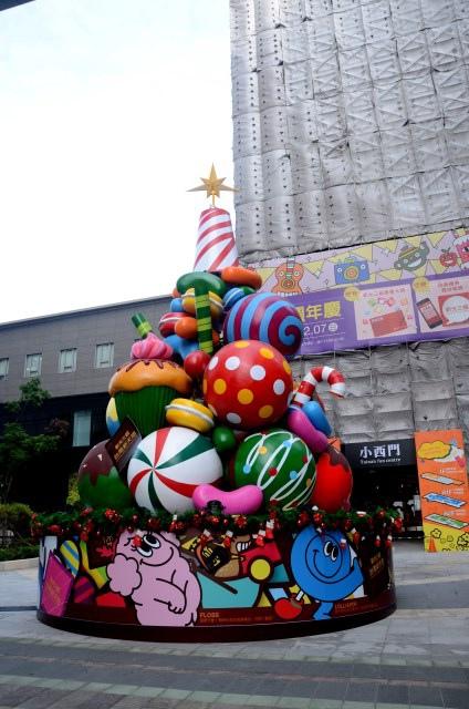 新光三越小西門(耶誕節) (7)