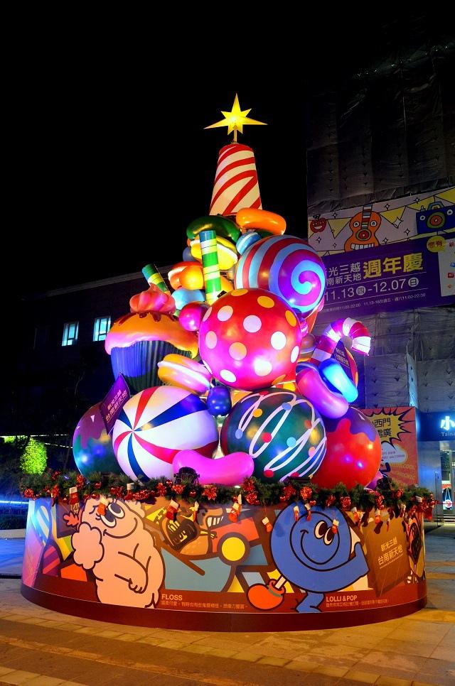 新光三越小西門(耶誕節) (1)