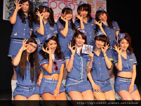 空姐系少女團體 PASSPO封面3