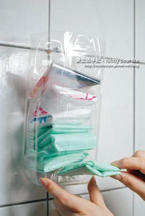 塑膠袋收納盒4
