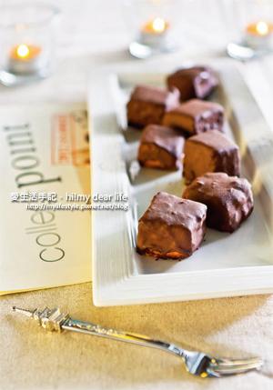 芒果巧克力磚