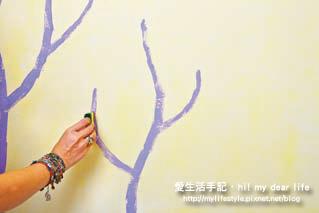 油漆紫樹7