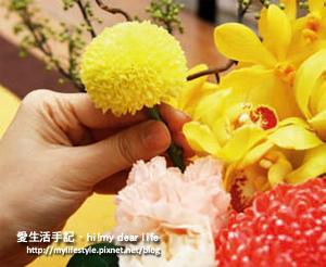 蒸籠花藝5