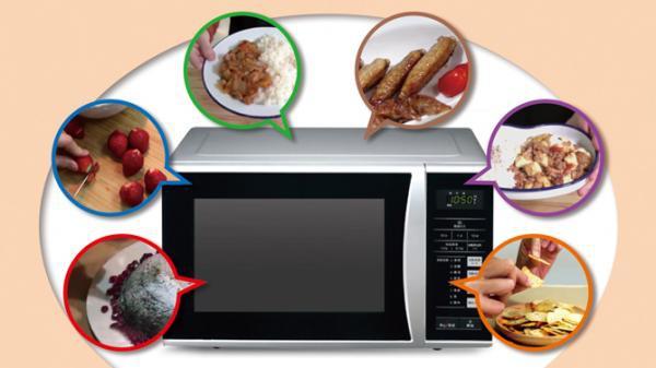 用微波爐也可以輕鬆做料理