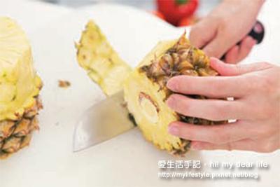 輕鬆切鳳梨